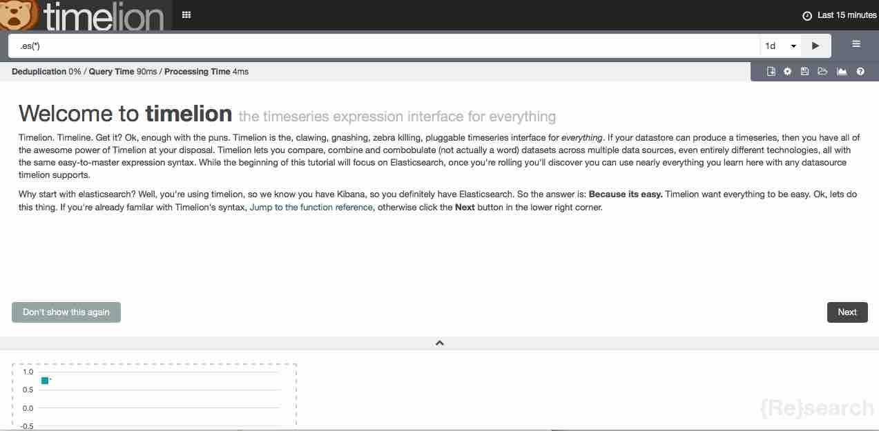 Timelionの紹介 - Elasticsearch Advent Calendar 2015 1日目